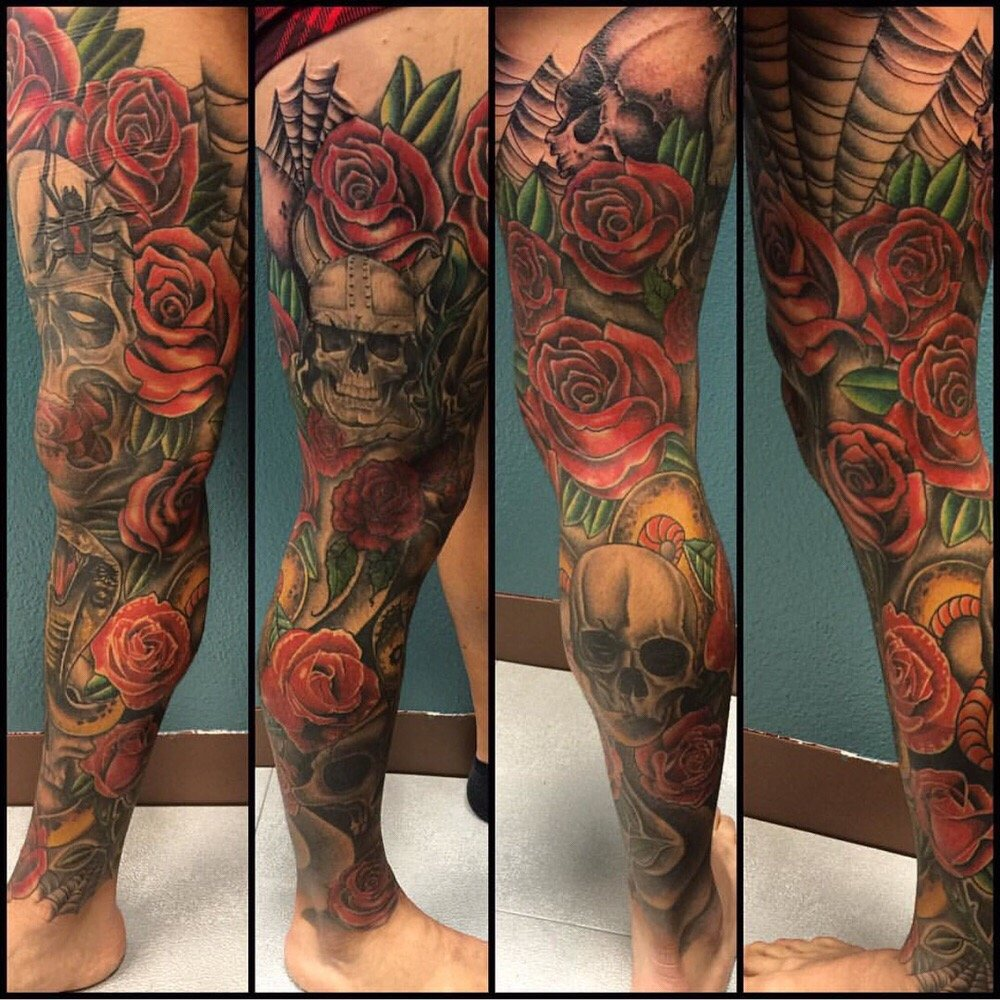 Ufc Fighter Cub Swanson Tattoo By Ron Hoffman Yelp Ideas And Designs