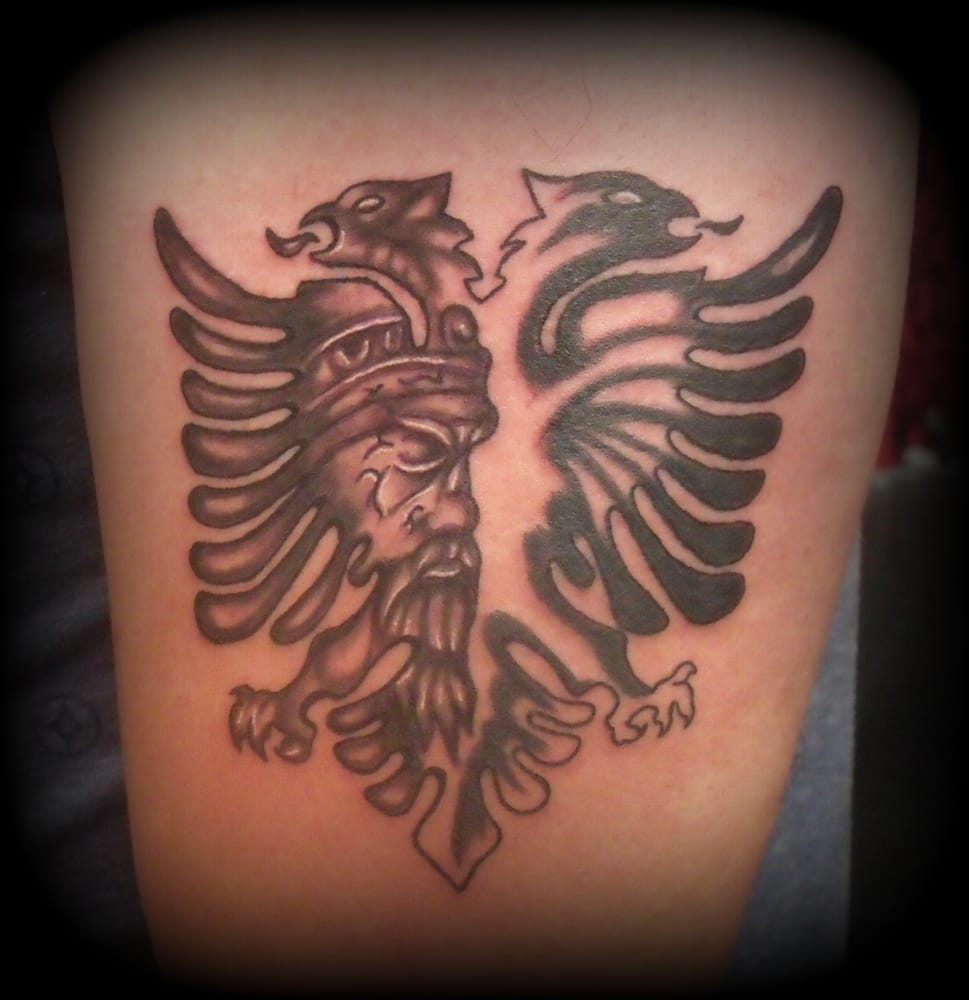 28 Albanian Flag Tattoo This Albania 20 Best Se Ideas And Designs