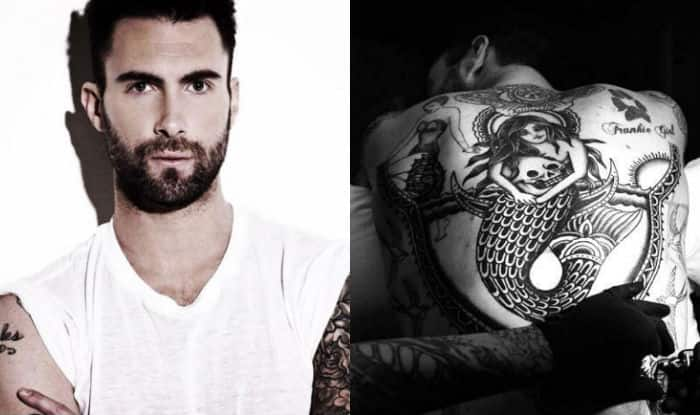 Maroon 5 Singer Adam Levine Unveils New Tattoo Ideas And Designs