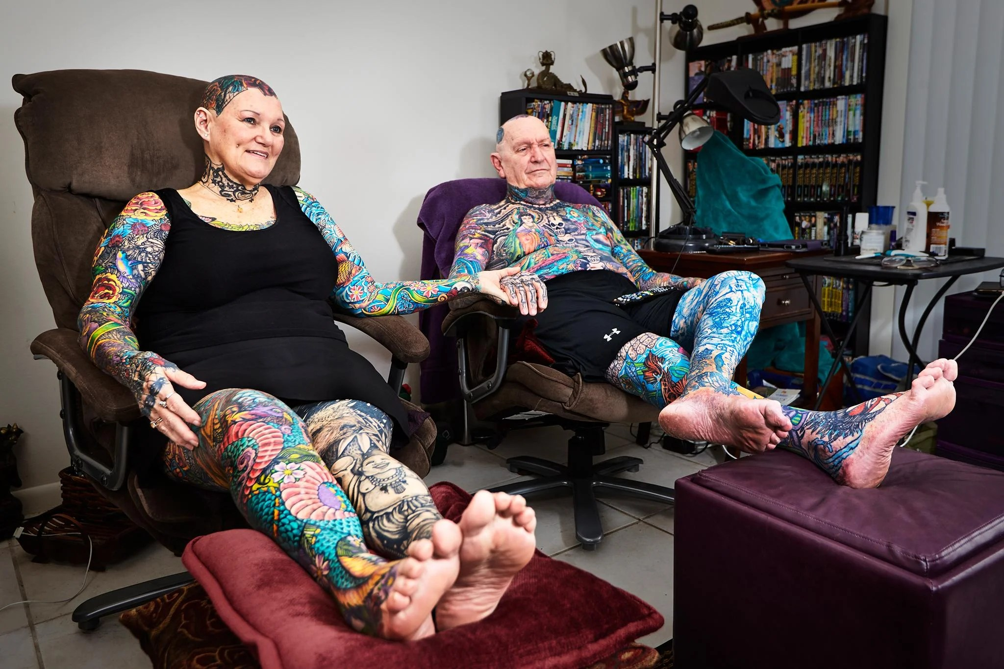 Meet The World S Most Tattooed Senior Citizens The Ideas And Designs