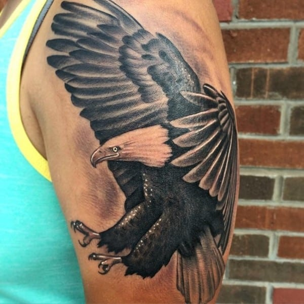 100 Splendid Eagle Tattoo Designs And Meanings Ideas And Designs