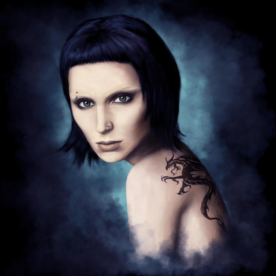 The Girl With The Dragon Tattoo By Aestra On Deviantart Ideas And Designs