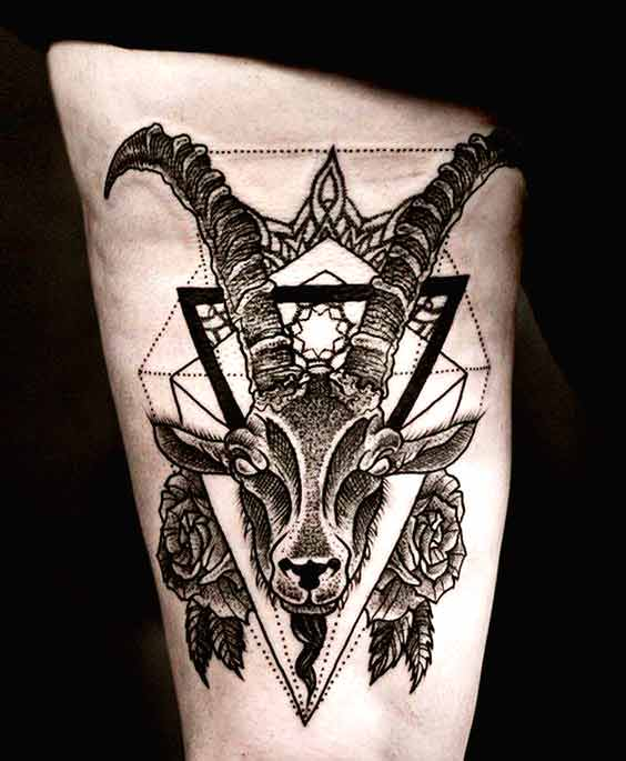 38 Best Capricorn Tattoos Designs And Ideas With Meanings Ideas And Designs