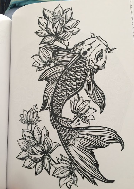 10 Mysterious Koi Fish Tattoo Designs And Meanings Ideas And Designs