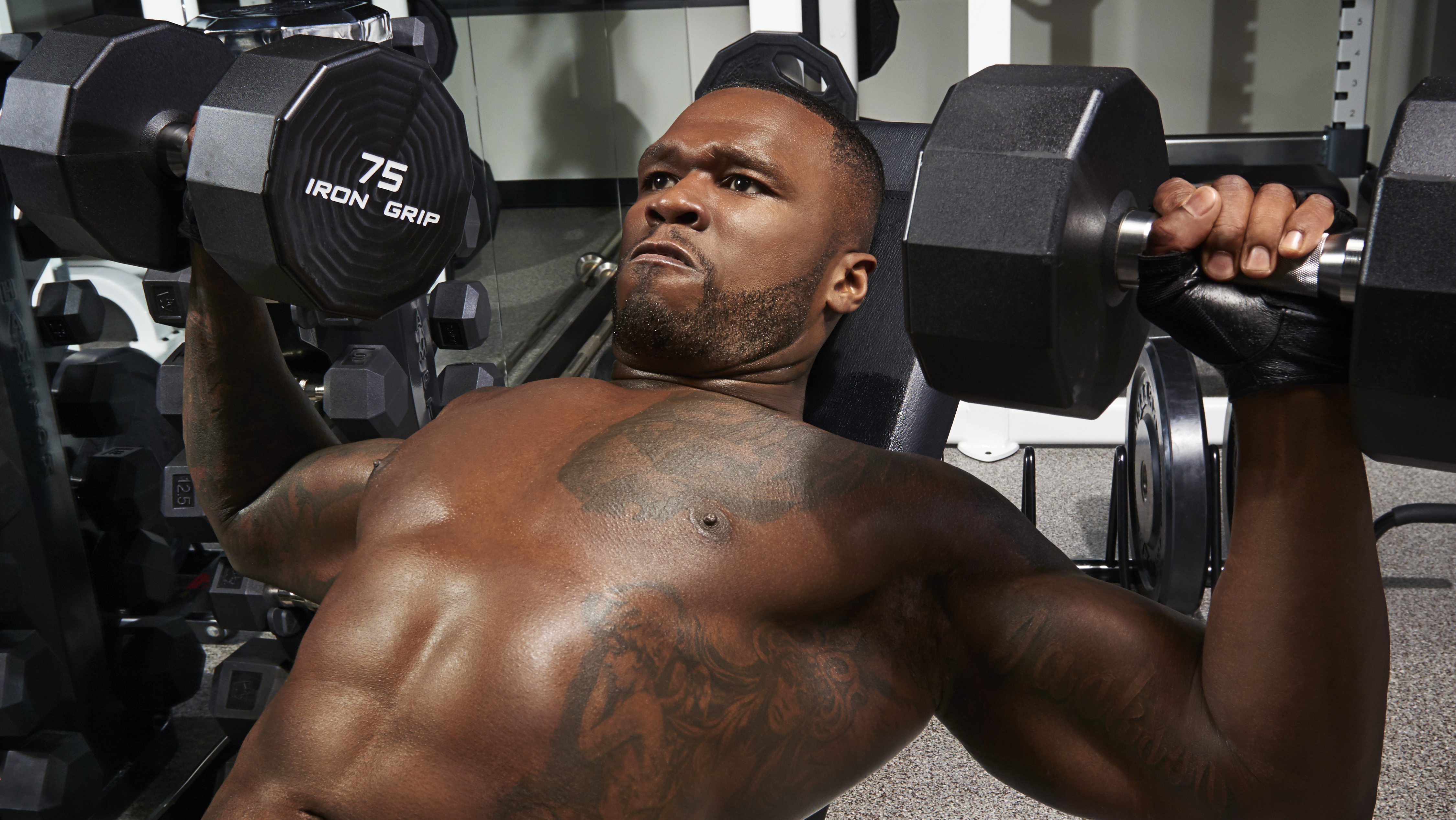 Never Gonna Stop 50 Cent Is In For The Long Haul Muscle Ideas And Designs