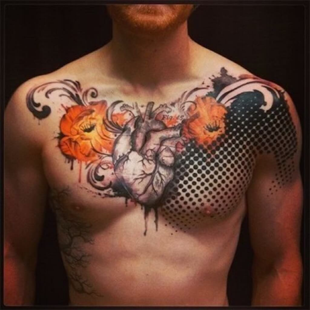 The 100 Best Chest Tattoos For Men Improb Ideas And Designs
