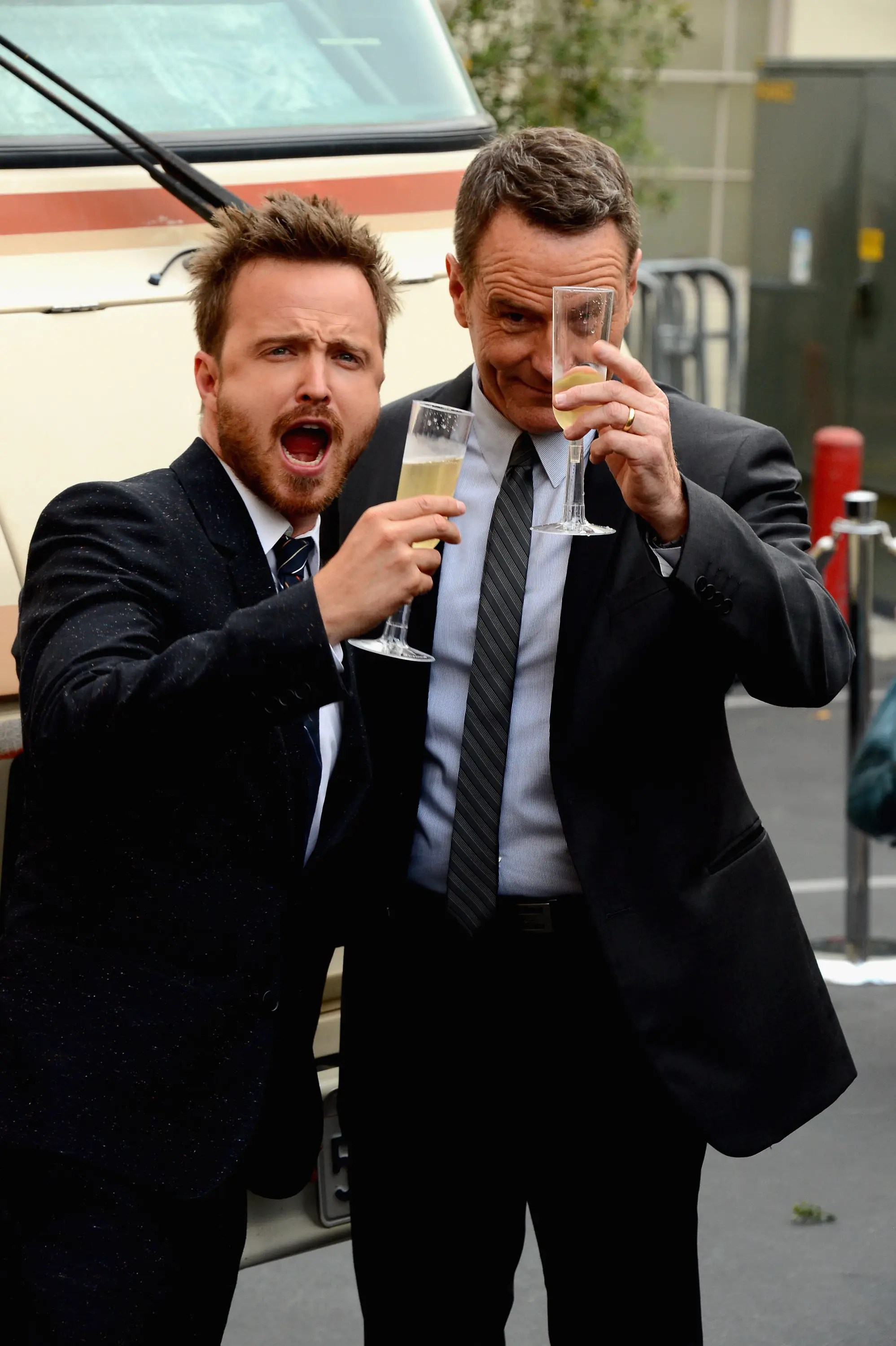 Aaron Paul And Bryan Cranston Drove The Breaking Bad Rv Ideas And Designs