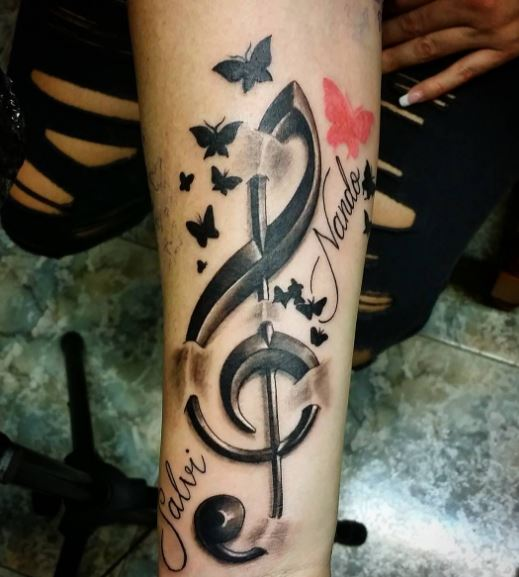 50 Admirable Music Tattoos For Men And Women 2018 Ideas And Designs