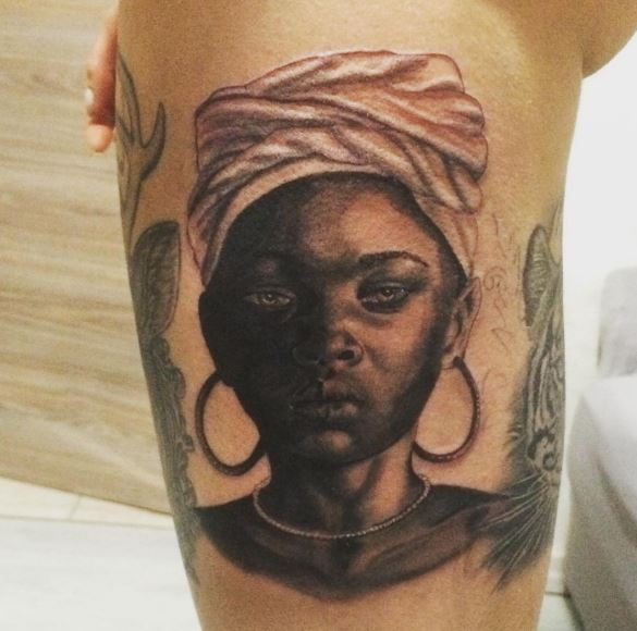 Top 50 African Tattoos Inspired From Tribes Of Africa Ideas And Designs