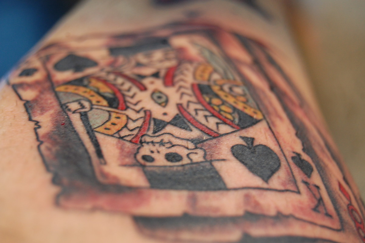 Playing Card Tattoo Designs Meanings Pictures And Ideas Ideas And Designs