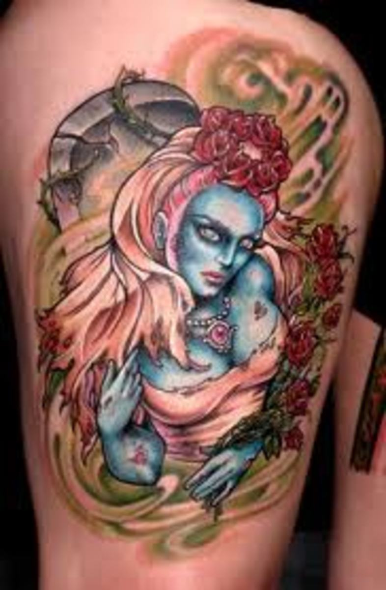 Pinup Girl Tattoos And Meanings Hubpages Ideas And Designs