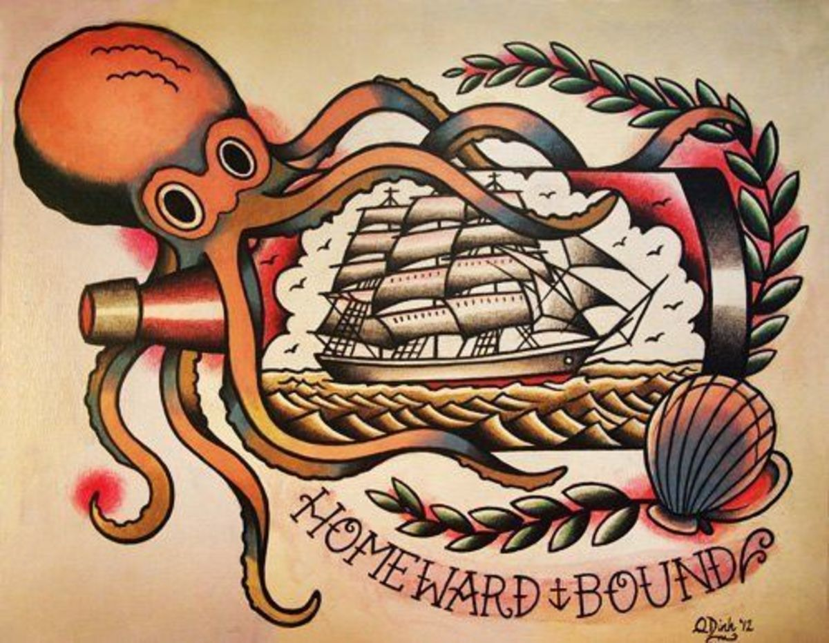 Traditional Nautical Sailor Tattoos Meanings Origins Ideas And Designs