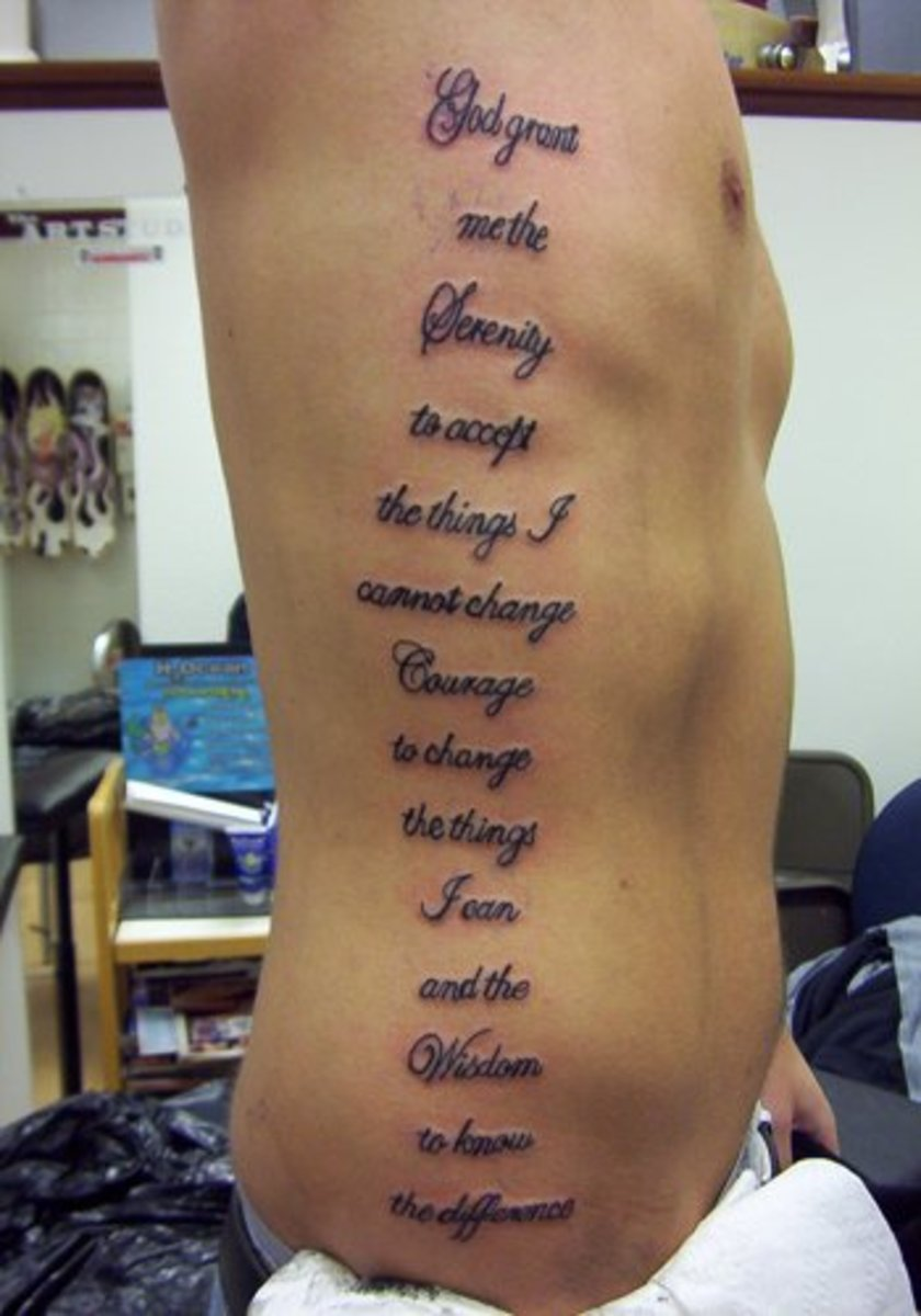 Tattoo Ideas Quotes On Addiction Sobriety Recovery Ideas And Designs