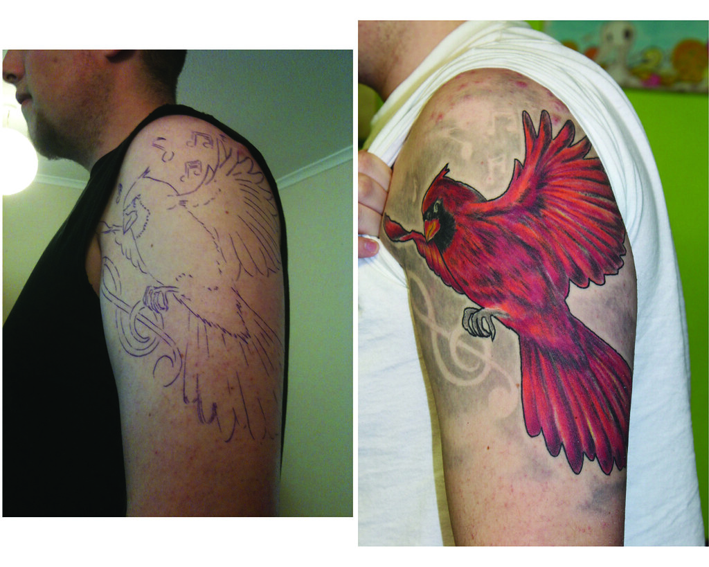 The World S Best Photos Of Cardinal And Tattoo Flickr Ideas And Designs