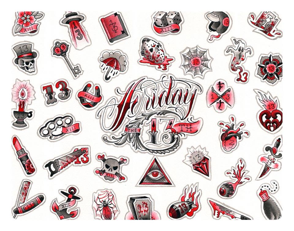 Leo's Guide To Friday The 13Th Tattoo Specials Leo Weekly Ideas And Designs