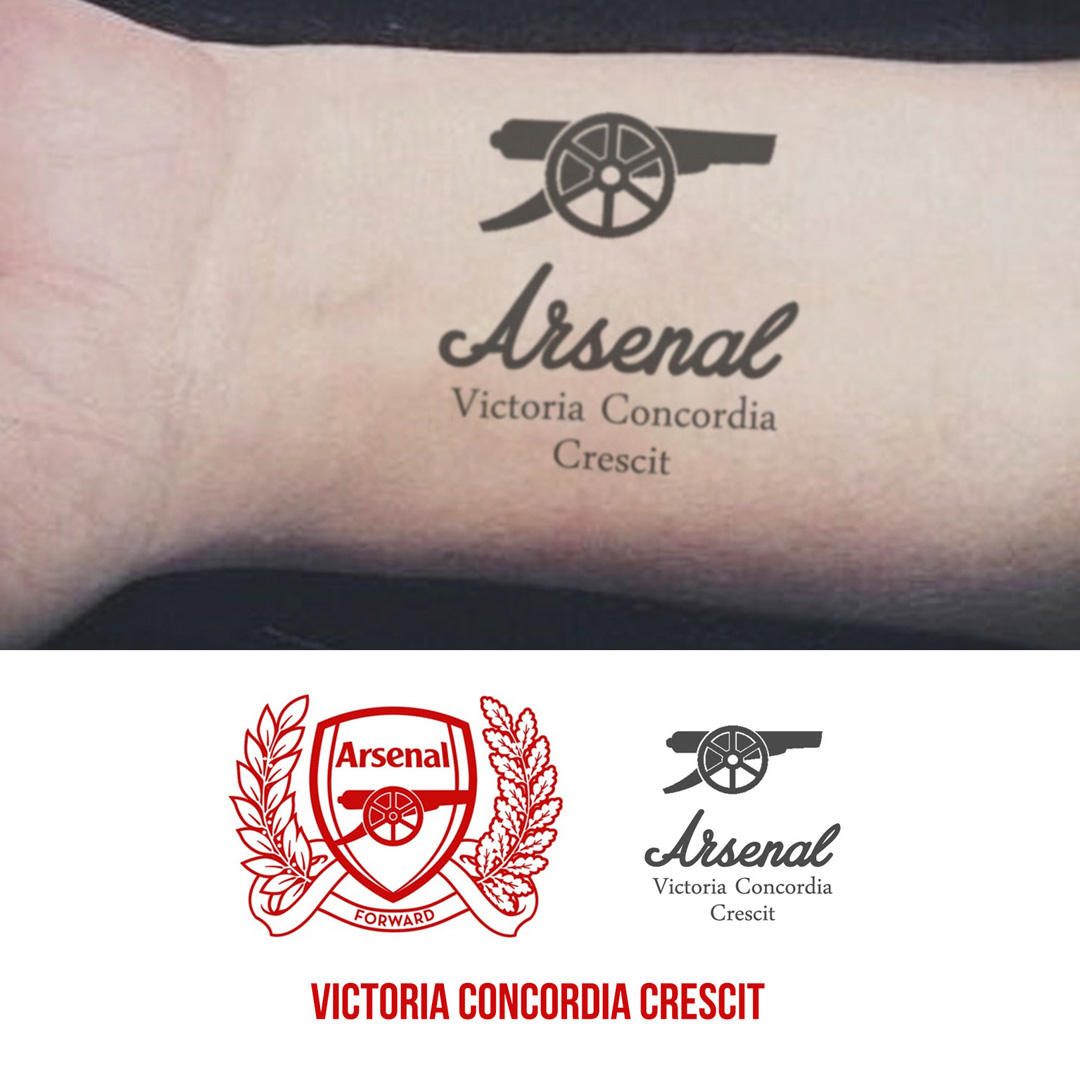 N10256S – Arsenal – The Ink Book Ideas And Designs