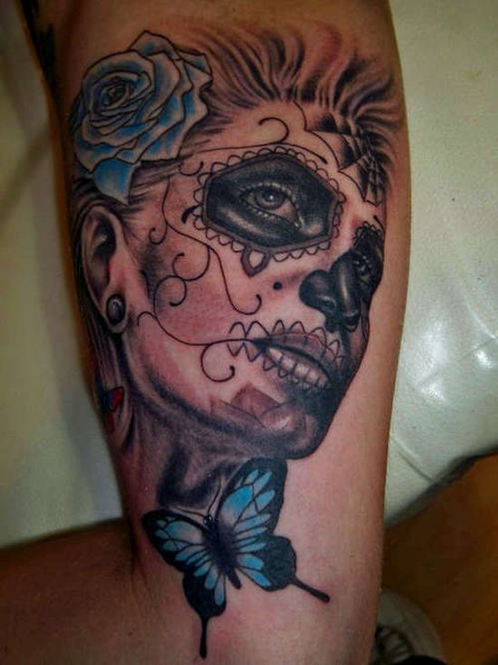 51 Ultimate Sugar Skull Tattoos Amazing Tattoo Ideas Ideas And Designs