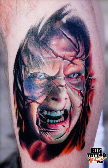 Aric Taylor Colour Tattoo Big Tattoo Planet Ideas And Designs