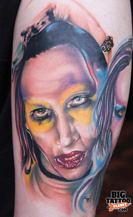 Mike Demasi Colour Tattoo Big Tattoo Planet Ideas And Designs