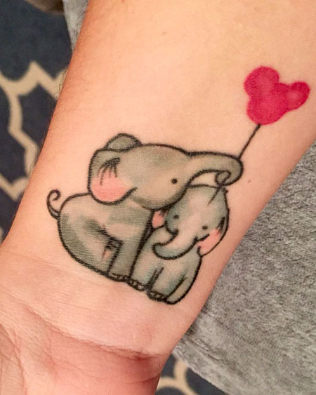 9 Cute Baby Elephant Tattoo 444 Styles 2018 Ideas And Designs