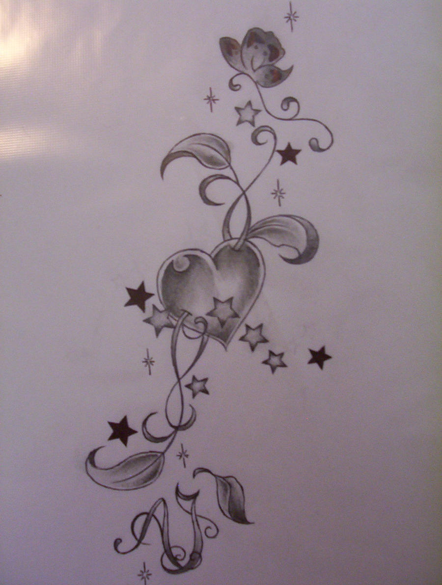 Heart Tattoo Design By Tattoosuzette On Deviantart Ideas And Designs