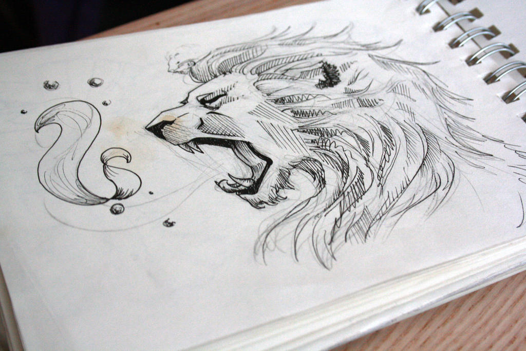 Lion Tattoo Design 3 By Panthershonor On Deviantart Ideas And Designs