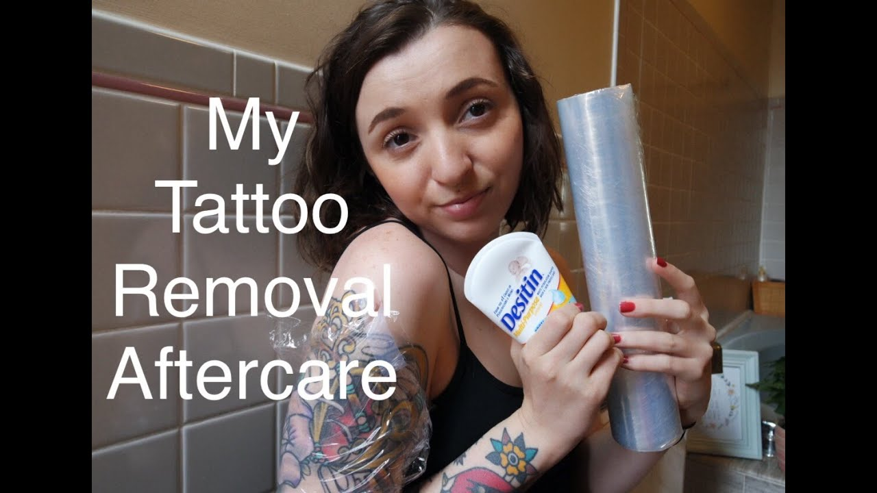 Tattoo Removal Aftercare Youtube Ideas And Designs