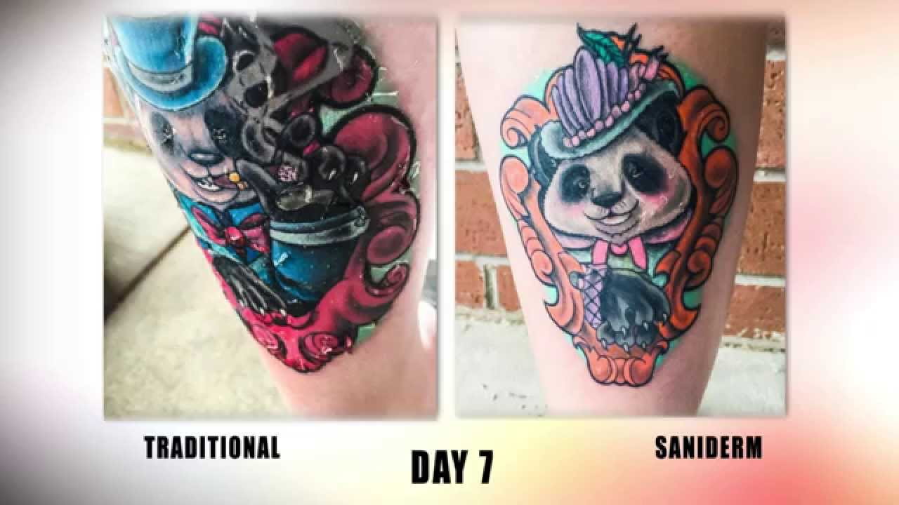The Saniderm Tattoo Aftercare Challenge Youtube Ideas And Designs