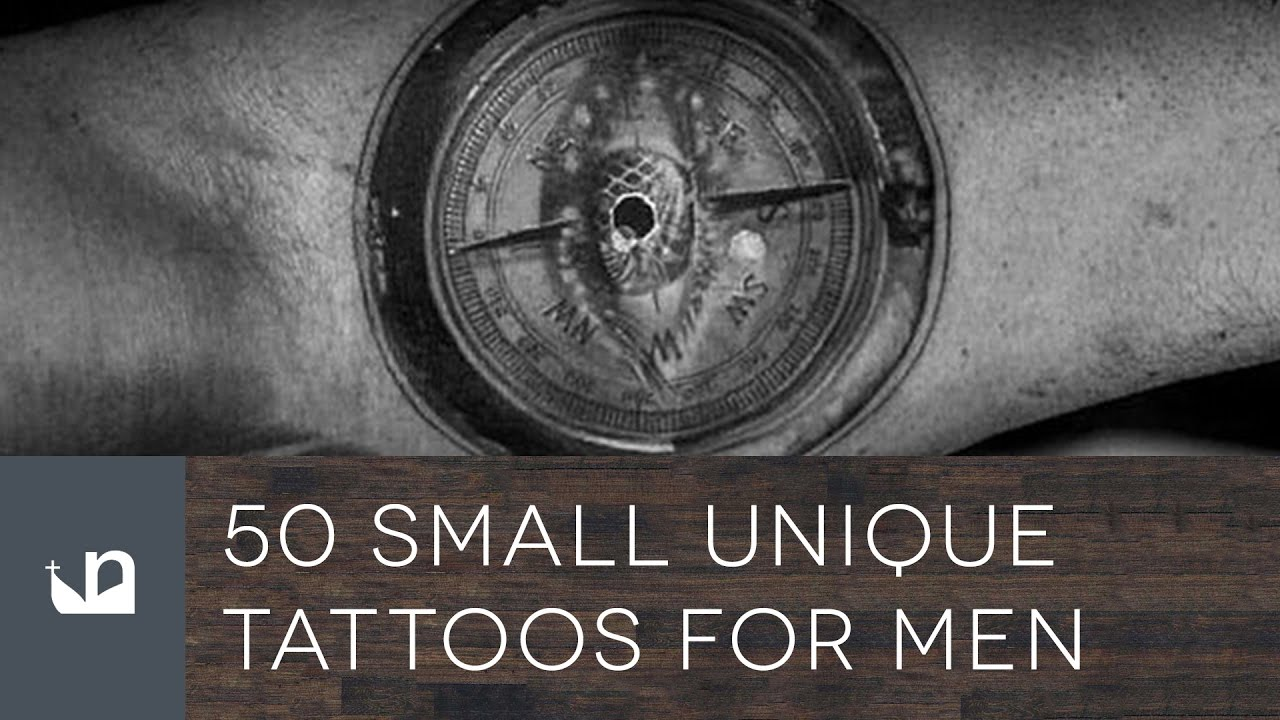 50 Small Unique Tattoos For Men Youtube Ideas And Designs