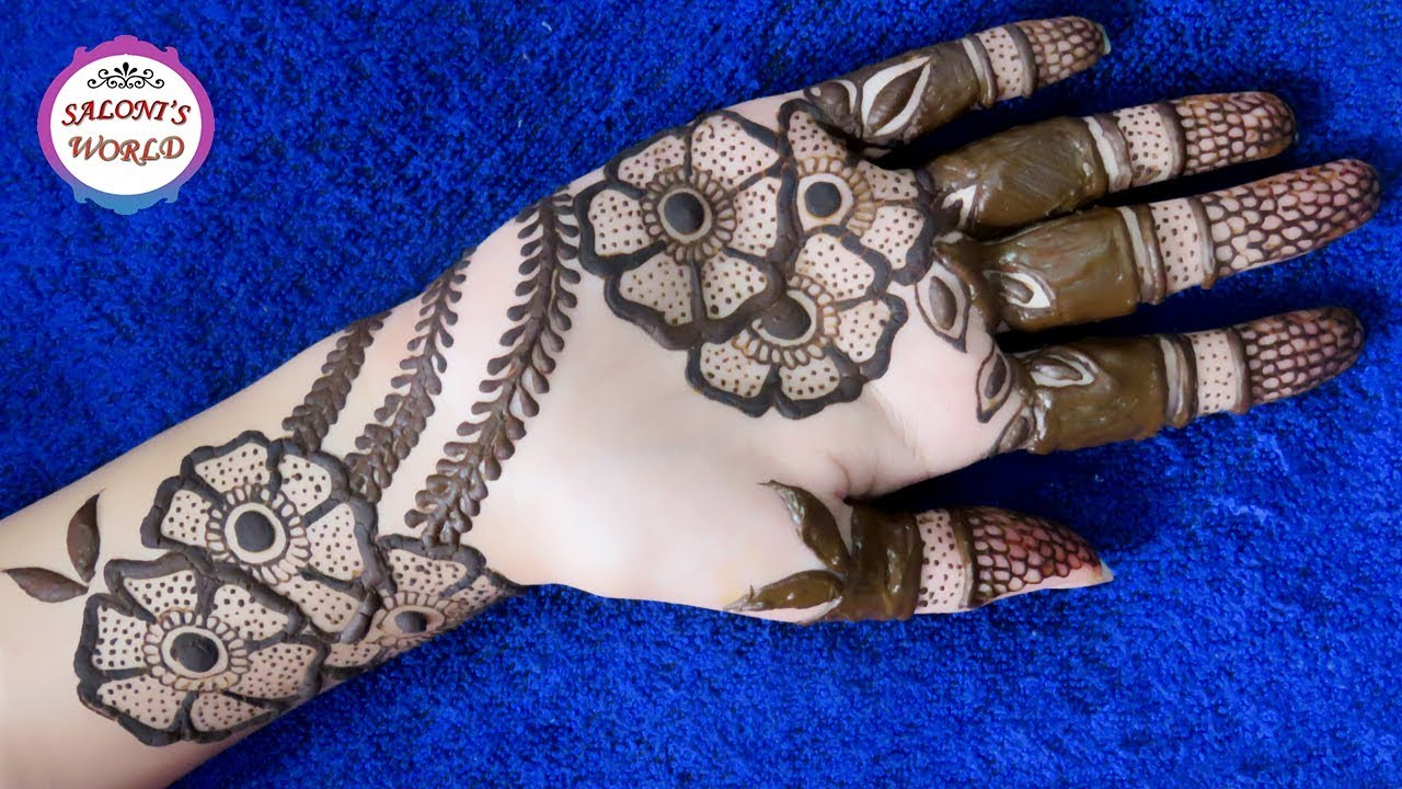 Latest 3D Mehndi Designs Simple Classy Floral Henna Ideas And Designs