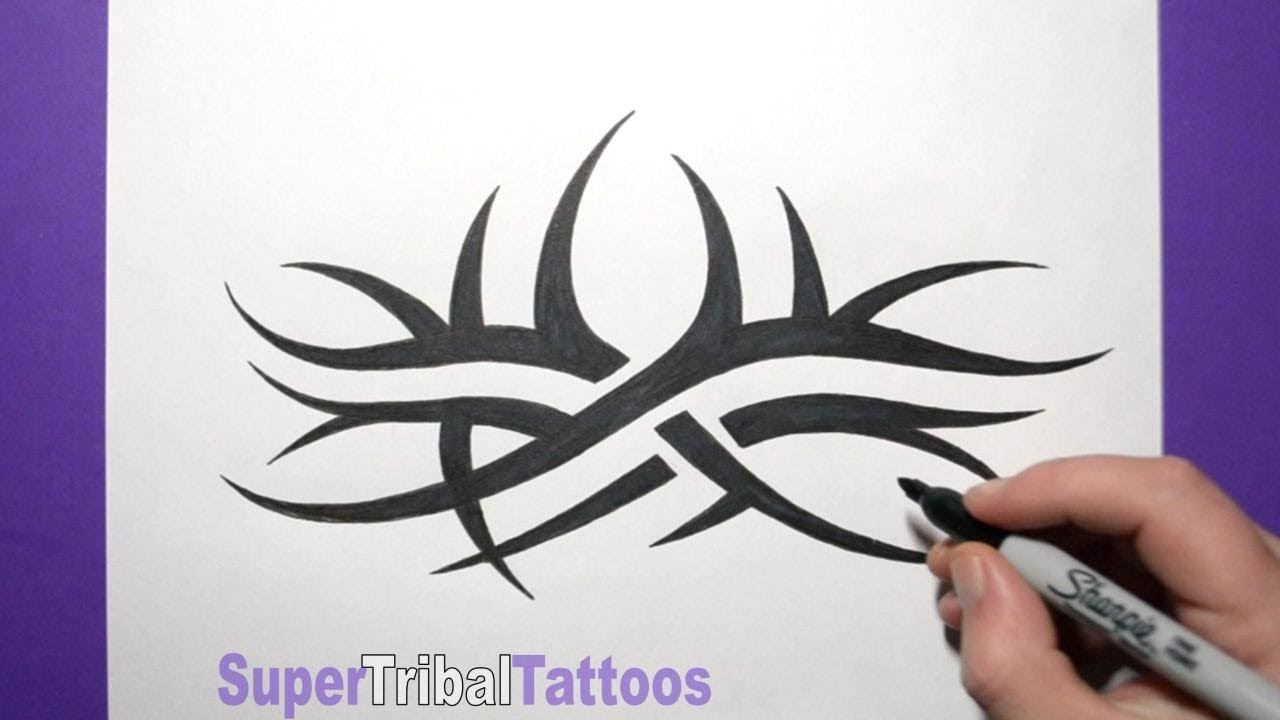 How To Draw Goldberg Tribal Arm Tattoo With Some Changes Ideas And Designs
