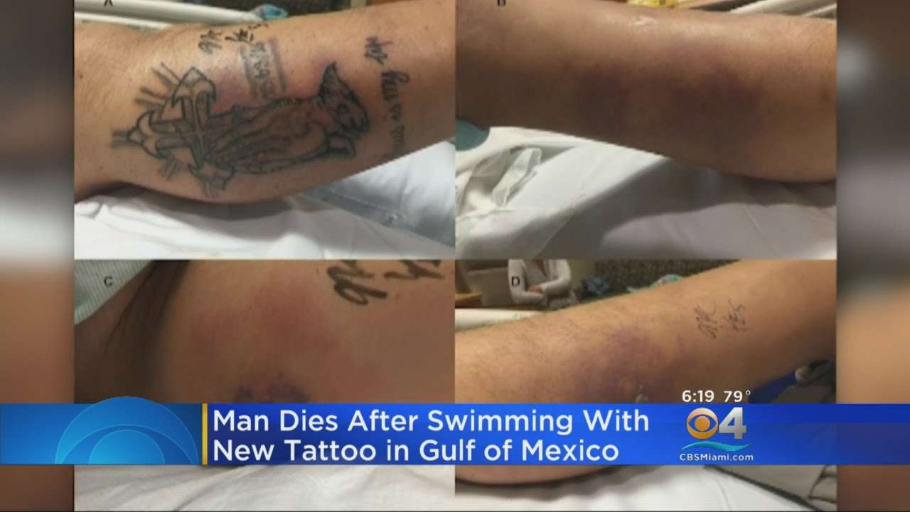 Man Dies After Swimming With New Tattoo In Ocean Youtube Ideas And Designs