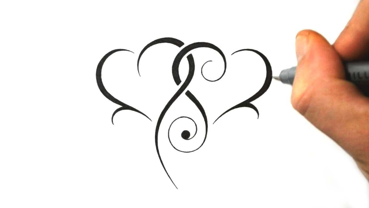 Designing Two Tribal Hearts Combined Design 7 Youtube Ideas And Designs