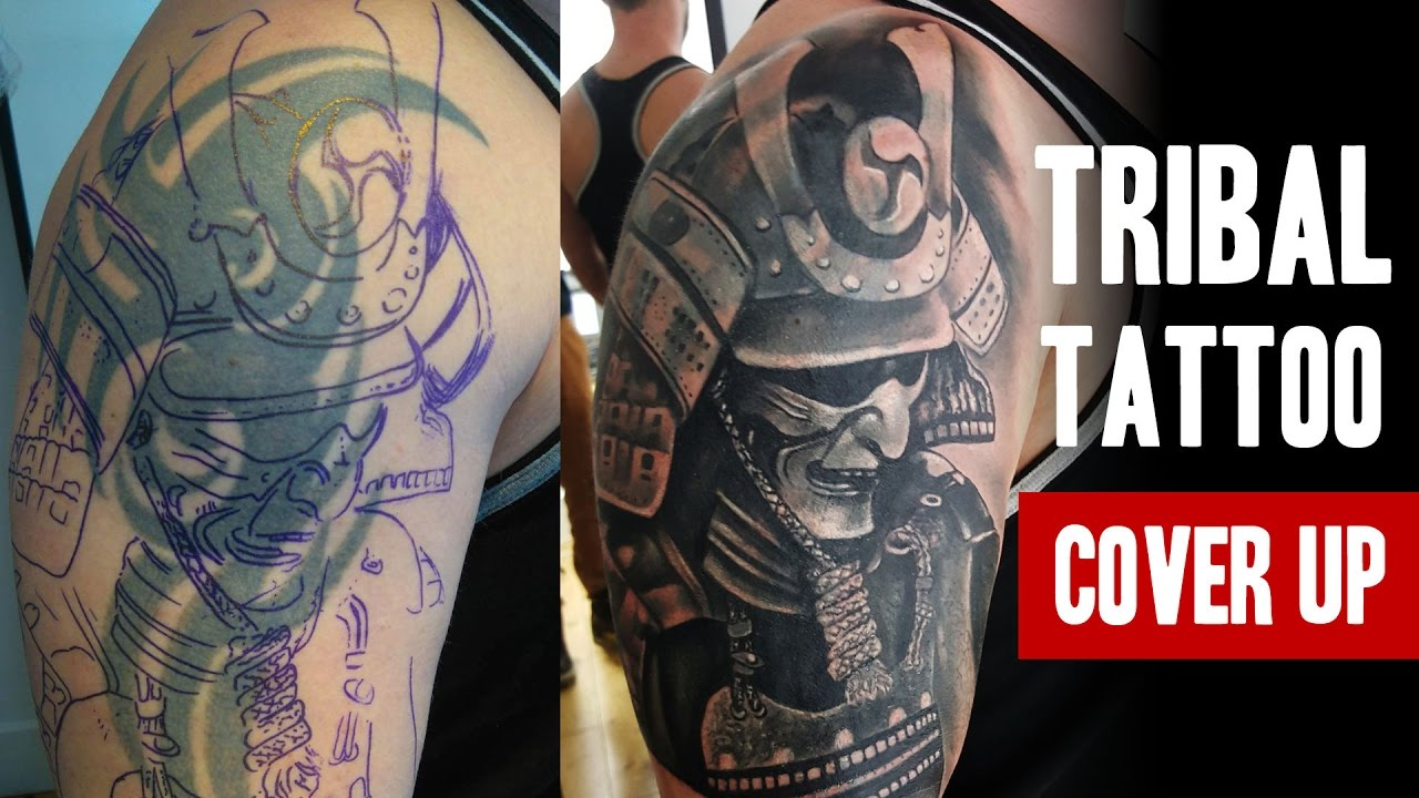 Tribal Tattoo Cover Up One Session Salvation Tattoo Ideas And Designs