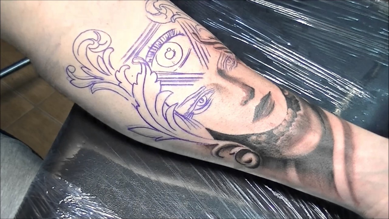 The Third Eye Tattoo Time Lapse Youtube Ideas And Designs