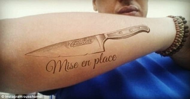 The Foodies With Very Cute Food Tattoos Daily Mail Online Ideas And Designs