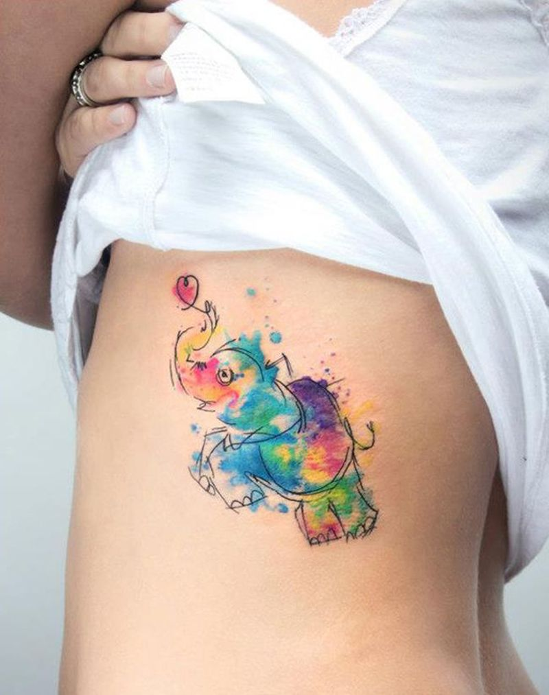 Watercolor Tattoos Will Turn Your Body Into A Living Ideas And Designs