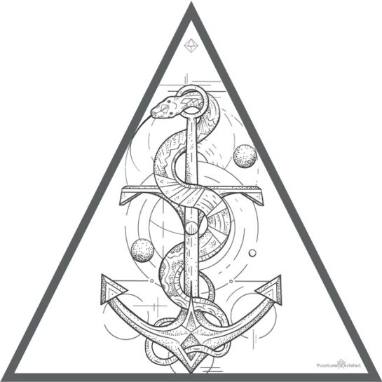 Custom Ink Asclepius Anchor Inkspiration Ideas And Designs