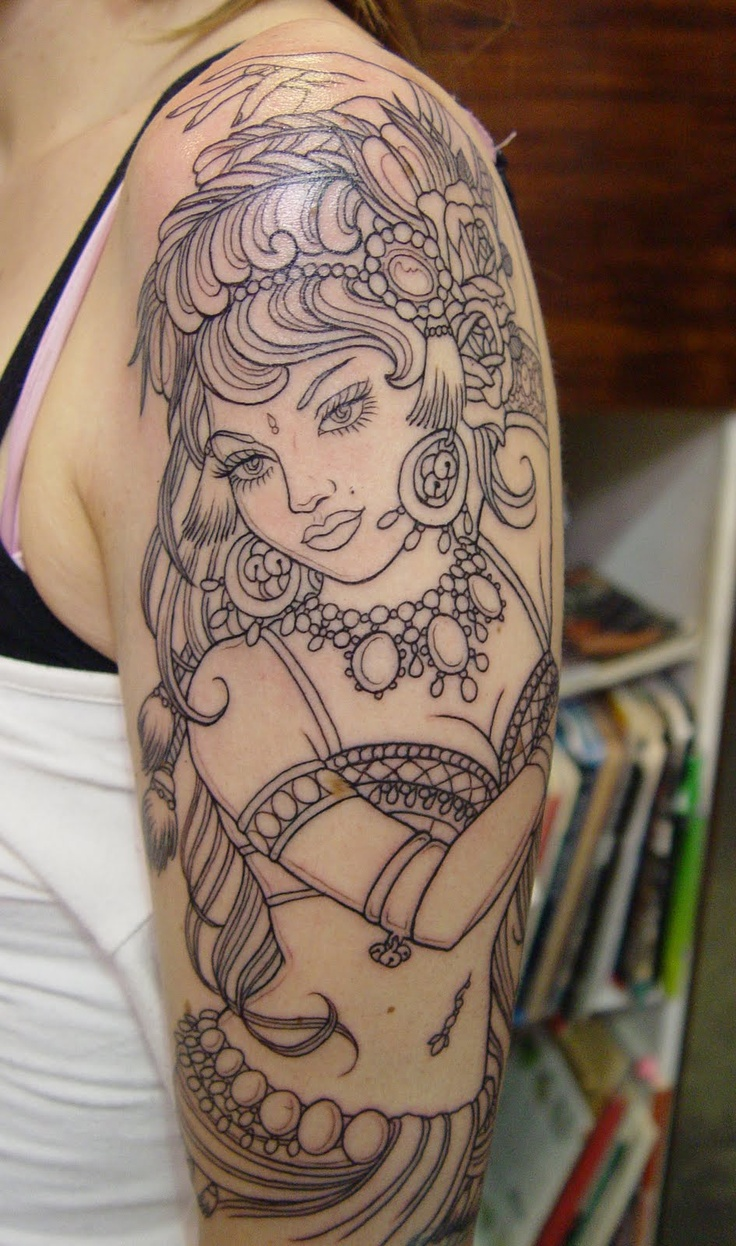 100 S Of Gypsy Tattoo Design Ideas Pictures Gallery Ideas And Designs