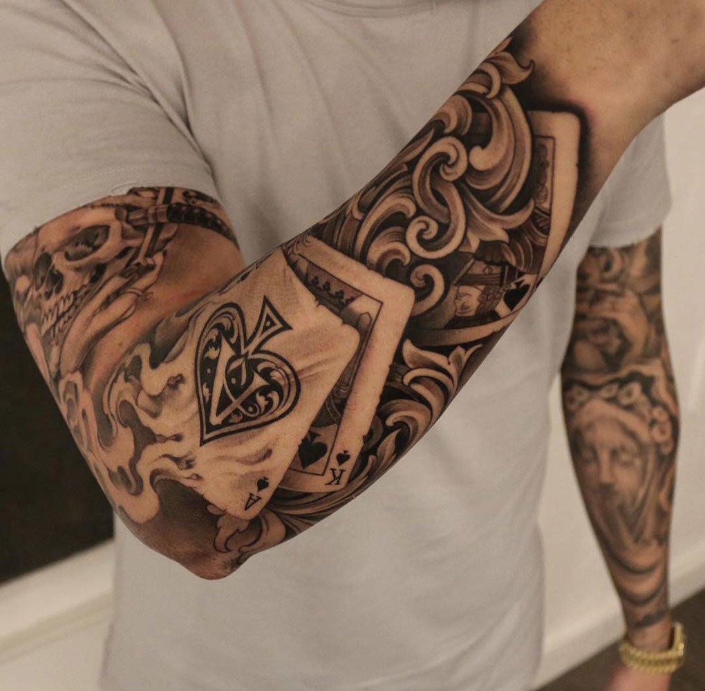 Pay 2 Play Playing Card Sleeve Best Tattoo Design Ideas Ideas And Designs
