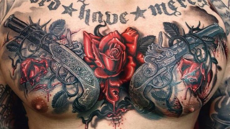 3D Chest Tattoos – Page 2 – Truetattoos Ideas And Designs