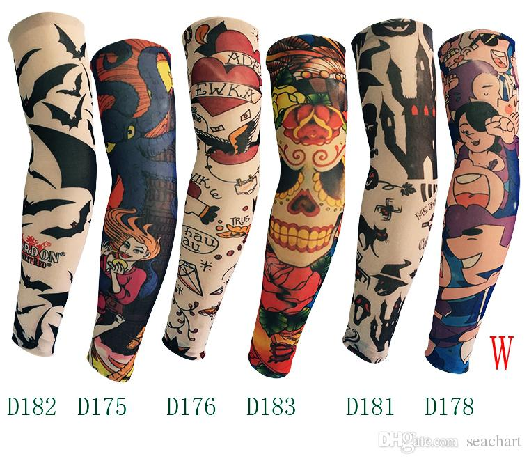Online Cheap New Sports Digital Camo Tattoos Arm Sleeves Ideas And Designs