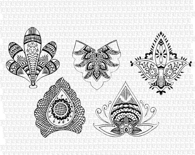 Items Similar To Instant Download Henna Designs Tattoo Ideas And Designs