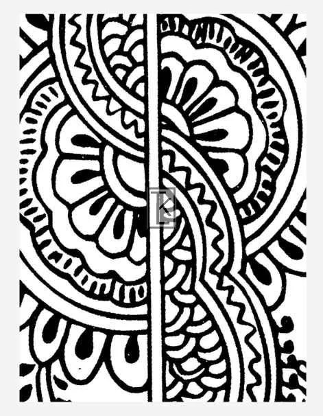 Items Similar To Clear Stamp Henna Tattoo Style 10 3 Ideas And Designs