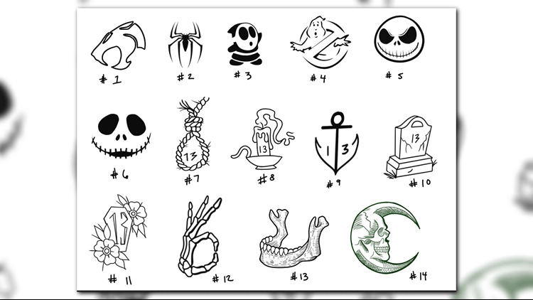 Tattoo Shop Giving 13 Ink For Friday The 13Th Aiming To Ideas And Designs