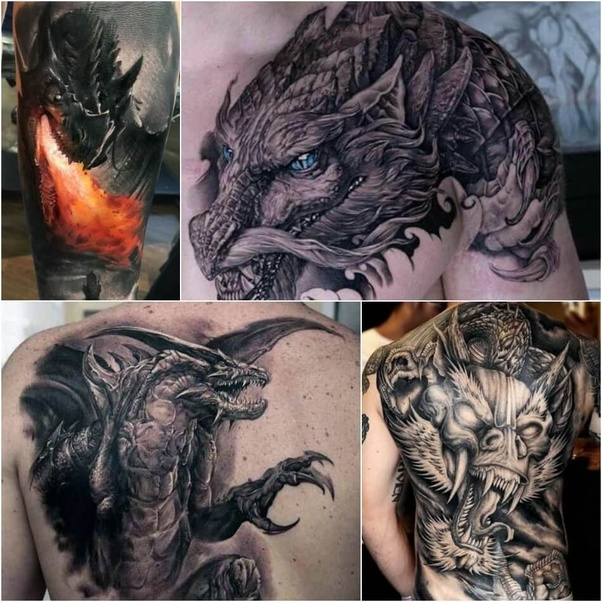 What Are Some Good Dragon Tattoo Designs Quora Ideas And Designs