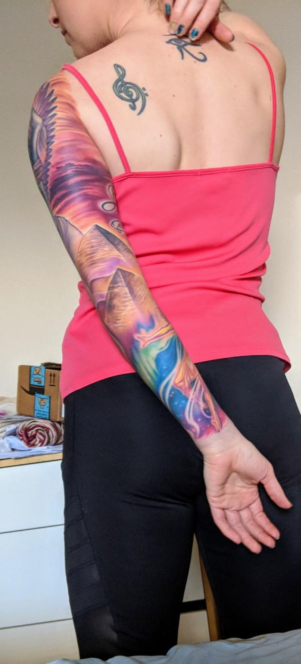 How Much Does A Full Sleeve Tattoo From Wrist To Shoulder Ideas And Designs