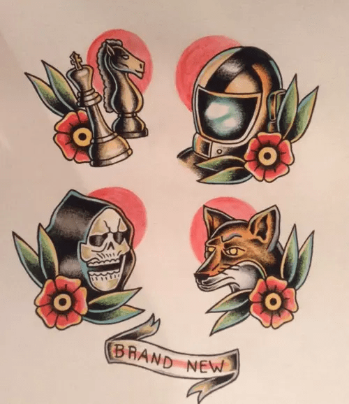Brand New Band Tattoos Tumblr Ideas And Designs