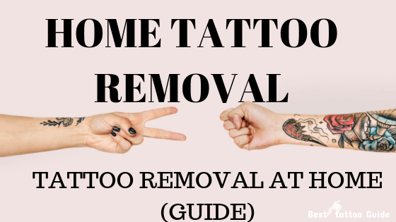 Tattoo Removal At Home Best Home Tattoo Removal Guide Ideas And Designs