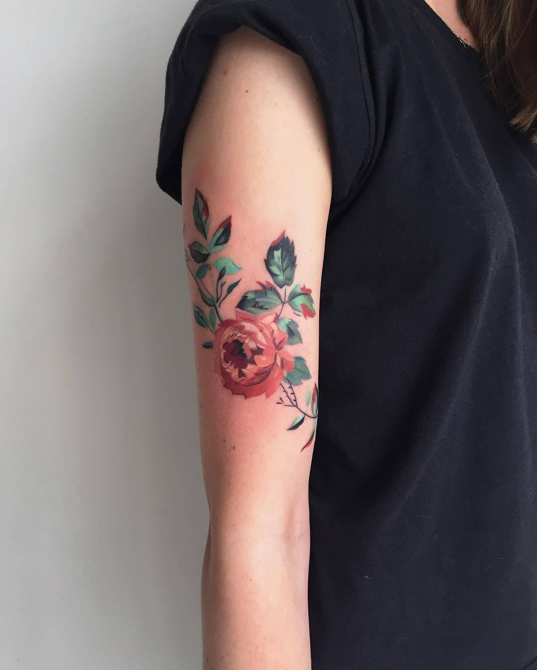 27 Inspiring Rose Tattoos Designs Page 13 Of 27 Ninja Ideas And Designs